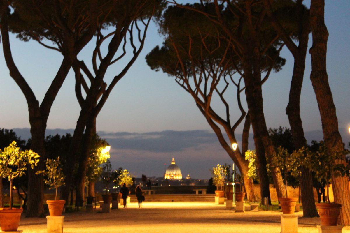 Rzym dla majowych romantycznych wieczorów